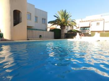 Bungalow en residencial con piscina - Apartment in Denia
